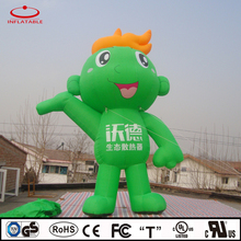 advertising inflatable cartoon, giant inflatable promotion green cartoon