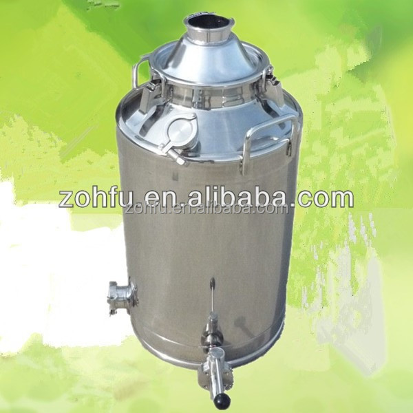 stainless steel alcohol distiller milk can distiller sale