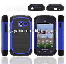 shell case for galaxy exhibit S738C,hard shell case for samsung galaxy,hybrid hard case for samsung galaxy fame