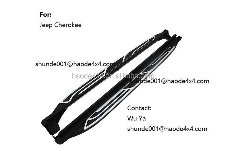 OE style side step for Cherokee with assurance in best price