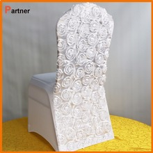 grey purple lace chair covers wedding decoration