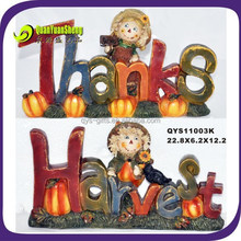 high quality thanksgiving decorations letter statues