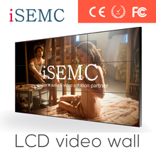 Factory Price Ultra Narrow Bezel LCD Video Wall, Big Screen TV