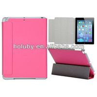 New Arrival for iPadAir/iPad5 Stand Flip Leather Case