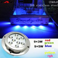First class 316 stianless steel IP68 led pool or underwater lamp