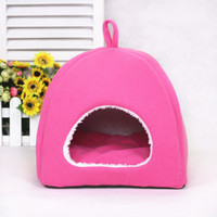 Pet Supplies Wholesale colorful fashion collapsible yurt kennel pet nest dog house - trumpet