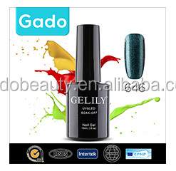 Gado More Colors Fashion metallic gel nail polish