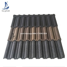Trade Assurance waterproof galvanized factory direct roofing shingles,classic stone coated roof tile