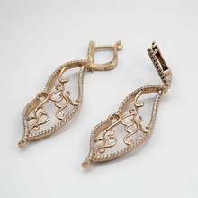 Silver Jewelry Wholesale Jhumka Earrings 2014 Fashion Big Earrings