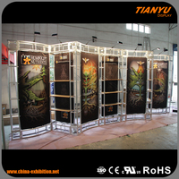 100% Warranty Customize Truss Booth Aluminium Girder For Exhibition Display