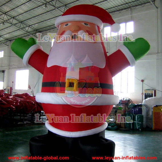 Giant Inflatable Santa Claus/Christmas Inflatable with custom size