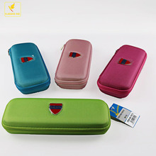 LQPT-B1531_2 hot selling hard polyester large capacity for school students stationery packing pencil pen case bag box