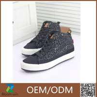 New arrival canvas semi casual shoes for women