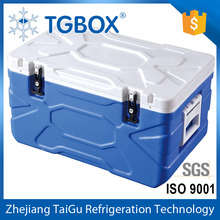 55L PU Insulated Layer Plastic Ice Chest Food Storage Cooler Car Cooler