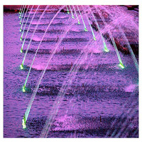 Decorative Garden Jumping Jet Fountain Outdoor Led Lights Water Fountain