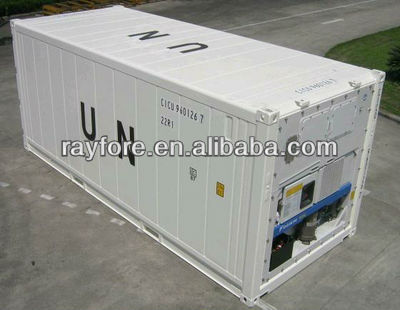 20 ft new reefer/refrigerated shipping containers in qingdao for sale