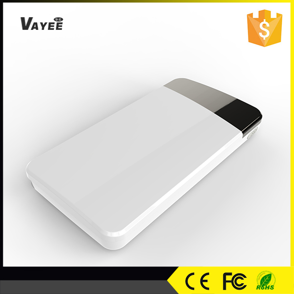 shen zhen,High capacity power bank 8000mah built in cable
