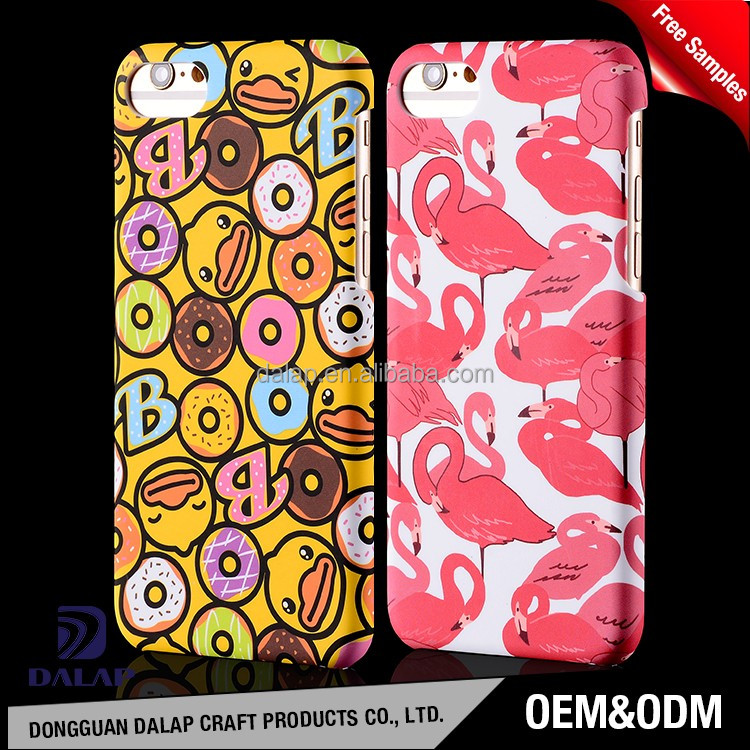 for iphone 7 mobile case, matte phone case with custom print
