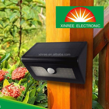 Xinree SL-840 Solar Powered outdoor garden lighting Wall Use