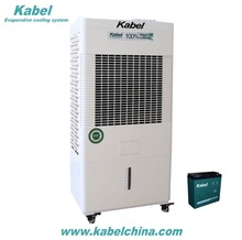 household white color charging movable evaporative air cooler water air conditioner