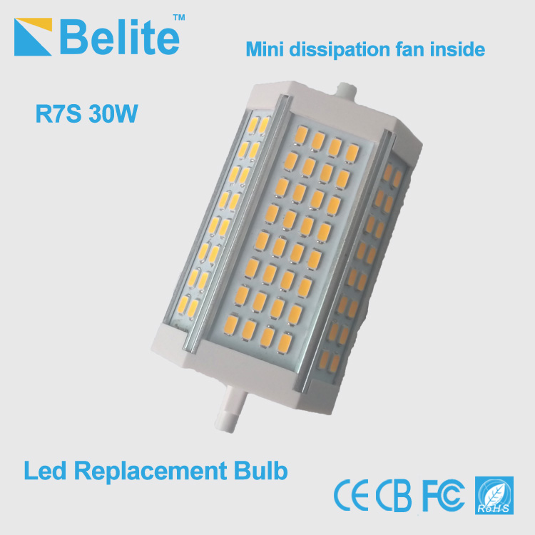 Competitive price 118mm r7s led 30w smd led bulb for replacing halogen lamp