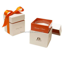 Luxury varnish lamination UV call phone gift packaging box with foam insert and compartments