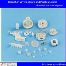 Inside and outside double plastic wheel gear mold