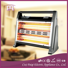 Portable electrical heater 2 years Guarantee, 4 quartz lamps electric room heater