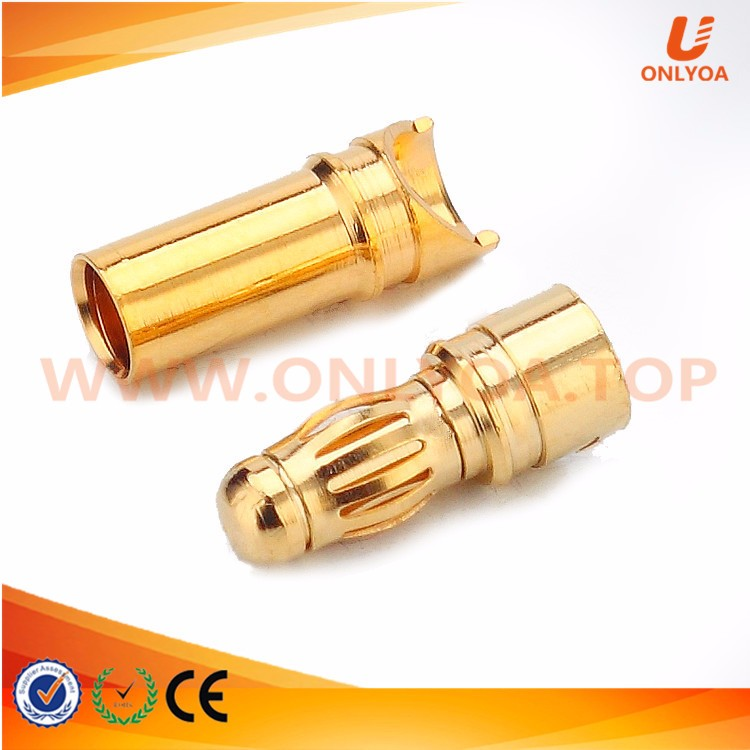 Manufacturer good quality 3mm high voltage banana plug connector