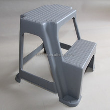recycled or virgin pp plastic step stool foot stool two step stool