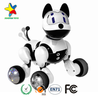 Kids Play Toy Small Puppy Battery rc truck cheap price 2017 hot sale moving toy dog