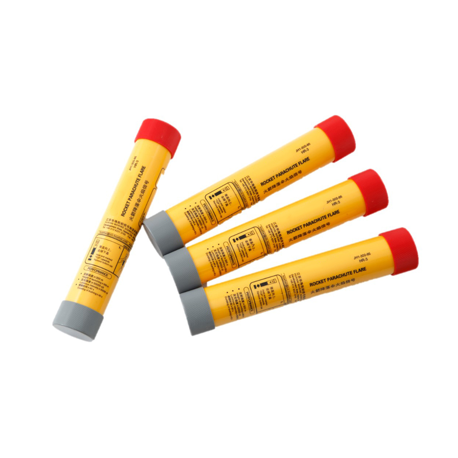 ccs rocket parachute red flare signal
