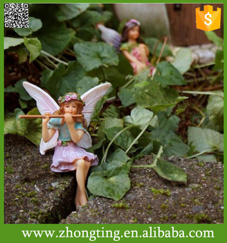 Wonderful home decotation ceramic garden fairy statues