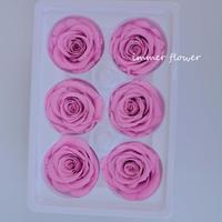 Handmade fresh Flower mini preserved rose heads valentines day flower gift