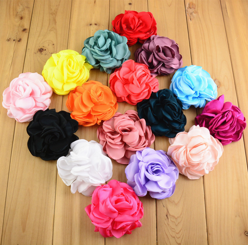 Fancy Hair Accessories Claw Wholesale Silk Flowers Hair Clips Buy