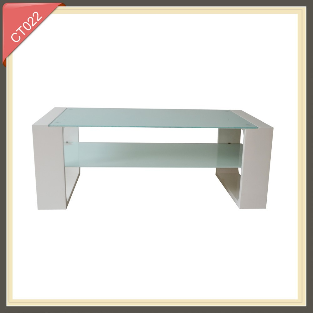 perspex coffee table inlaid with mother of pearl CT022