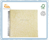 New Design Handmade Colored Pearlite Paper Hardcover Decorative Photo Album
