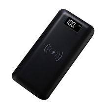 16000Mah Electronics Display Power Bank Wireless Charger