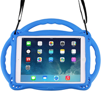 Kids Tablet Portable Case for iPad Air/Air 2 New iPad 9.7'' with Handle Eco-friendly Kids Friendly Dustproof Shockproof