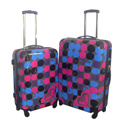 Printed Quality Carry On Small Luggage with protective cover