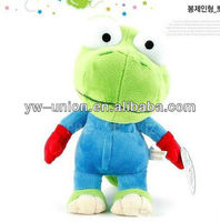 TOLO Brand Green Frog Stuffed Toy