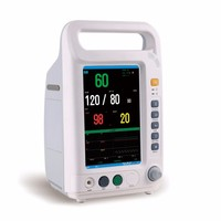 CE Approved 7 Inch Portable Multi-Parameter Vital Signs Patient Monitor