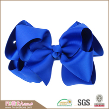 Best quality kids big ribbon christmas hair bows with clip