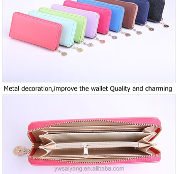 SYC03 Wholesale Handbag Card Wallet ,PU Woman Wallet,Phone notecase