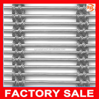 best price metal curtain / decorative metal wire mesh / architectural decorative wire mesh