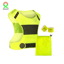Wholesale price reflective safety running vest