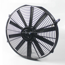 24V 12V Universal Bus Car Auto AC A/C Air Conditioner Condenser Cooling Radiator Fan With Brushless Brushes DC Motor RPM Prices