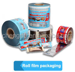 Wholesale Superior Quality PET/VMPET/PEsnack nut food grade plastic film roll/laminating film roll/packaging food plastic film