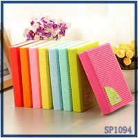 custom European-style cheap plain notebooks beautiful Factory writing pad school silicone notebooks