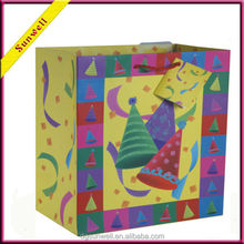 China Best discounts birthday christmas gift bag&health lovely children paper bag hot paper products